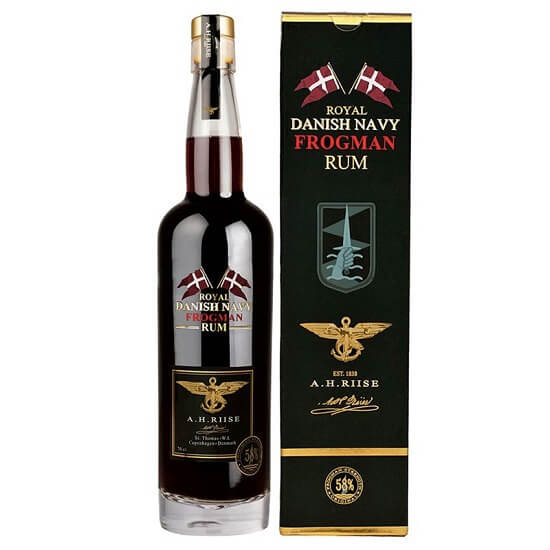 A.H. Riise Royal Danish Navy Strength Rum