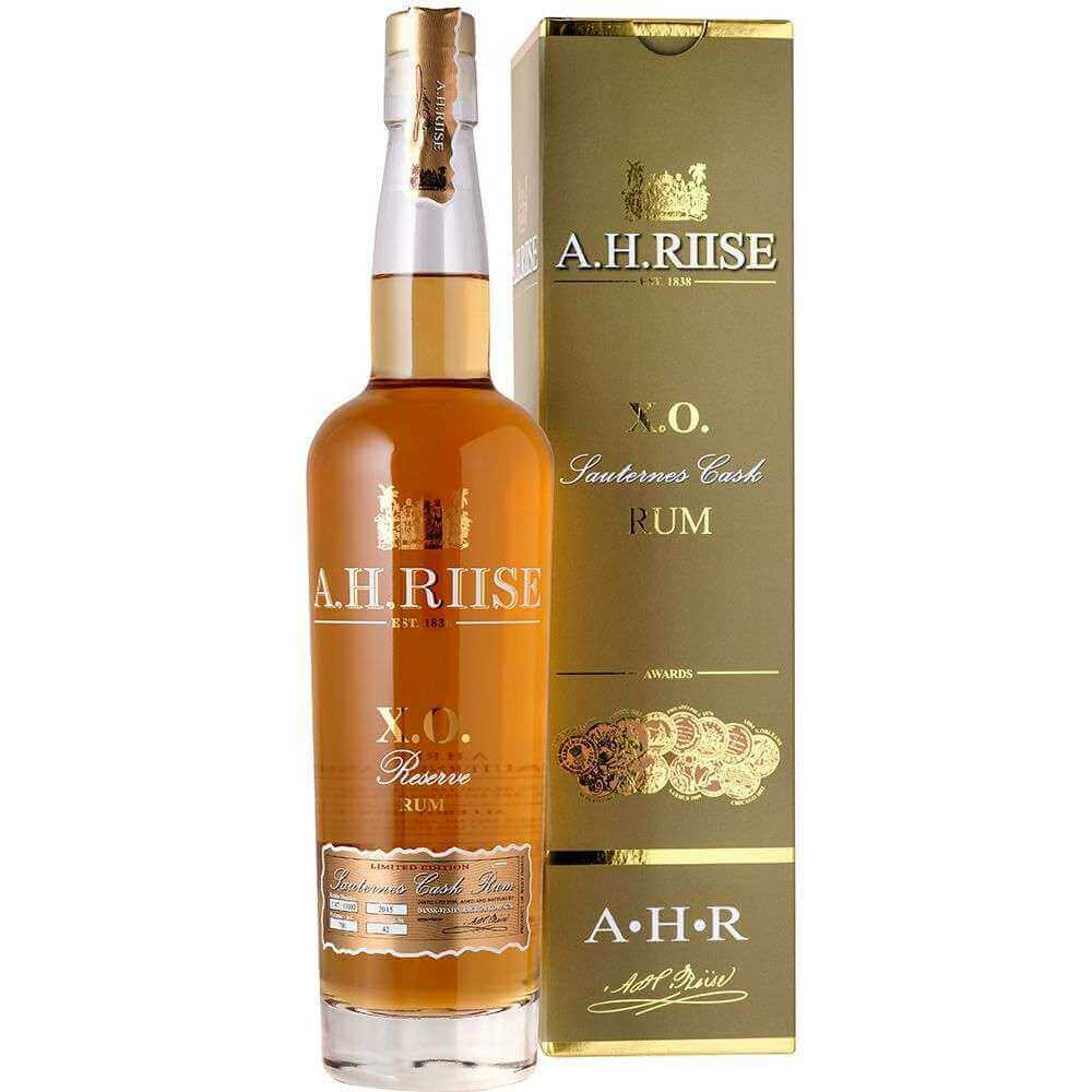 A.H. Riise X.O. Reserve Sauternes Cask Limited Edition