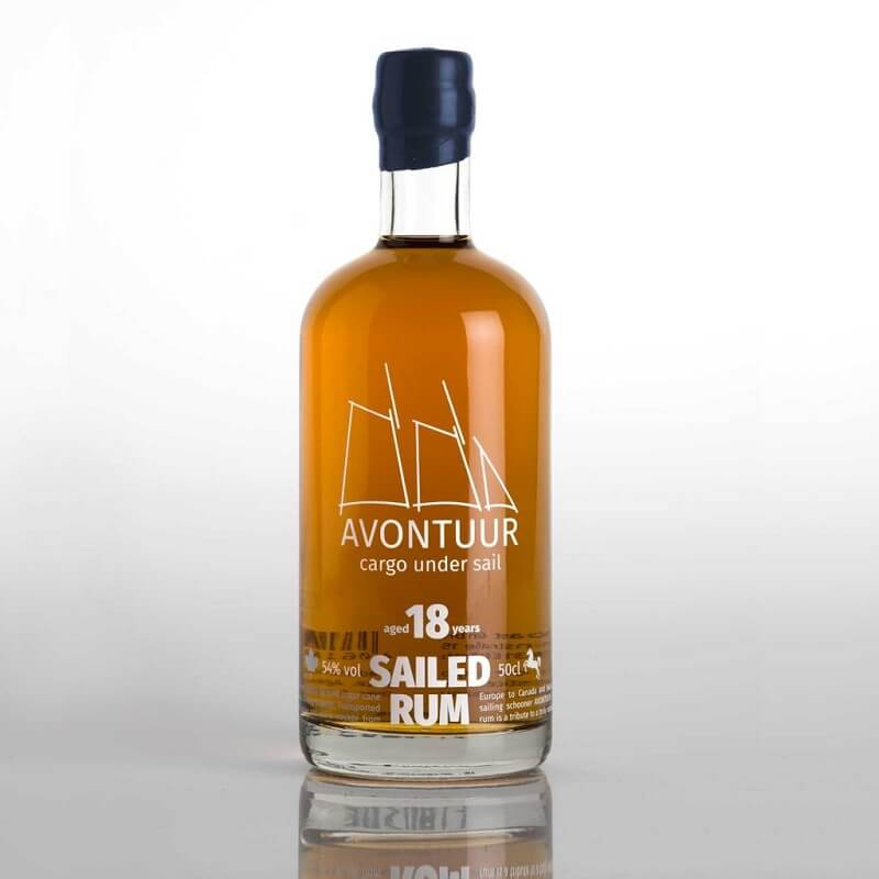 AVONTUUR sailed RUM 18 years Edition Kanada