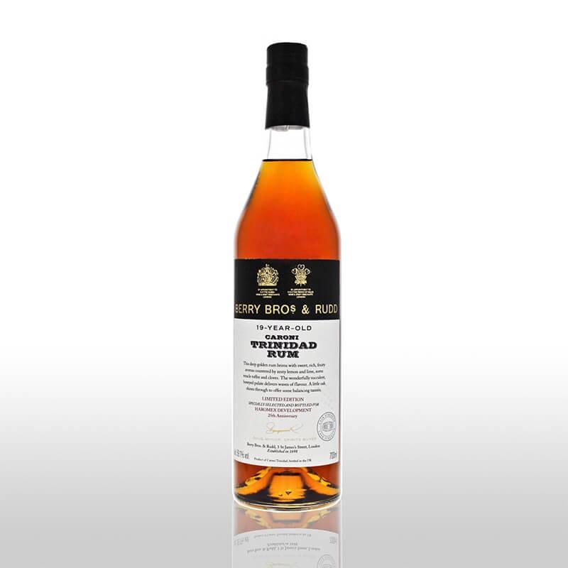 Berry Bros & Rudd Caroni Trinidad Rum Cask Strength 19 Jahre (Anniv. Ed.)