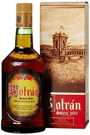 Botran Ron Solera 1893 PRIMERA EDICION Premium Gold Rum