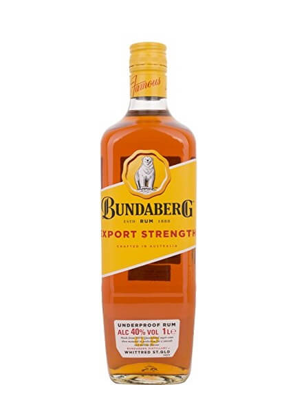 Bundaberg EXPORT STRENGTH Underproof Rum