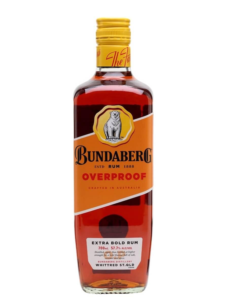 Bundaberg OVERPROOF Extra Bold Rum