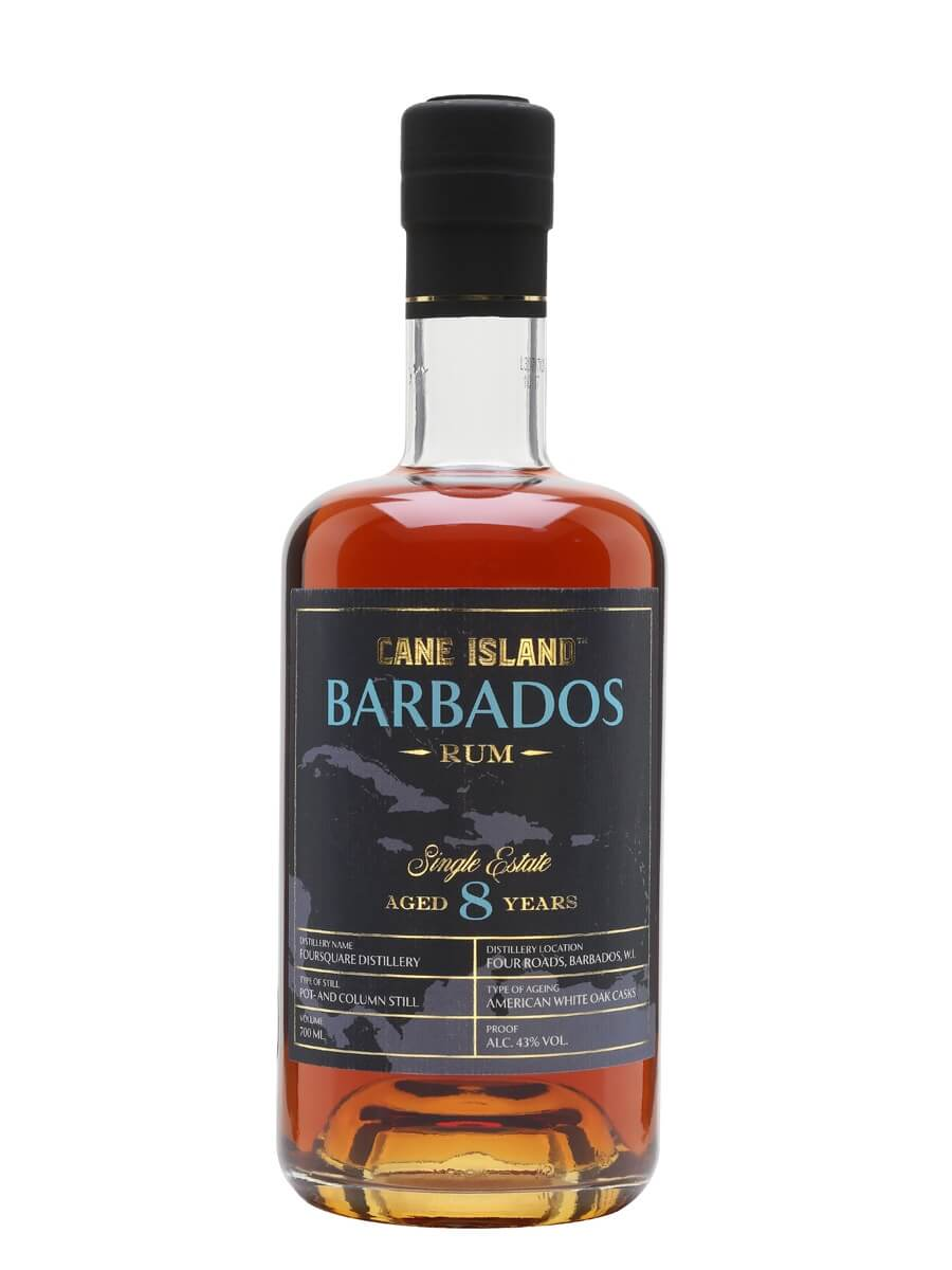 Cane Island Barbados 8 Jahre Single Estate Rum