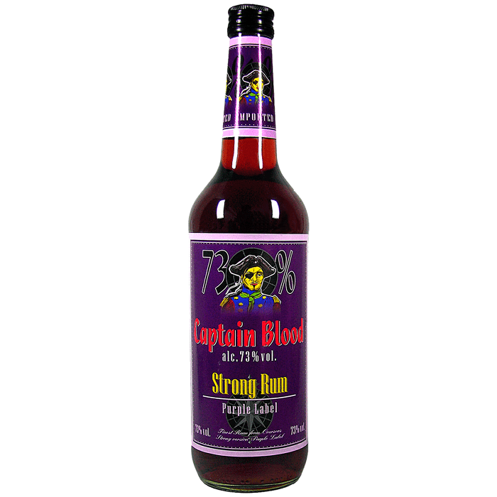 Captain Blood Strong Rum