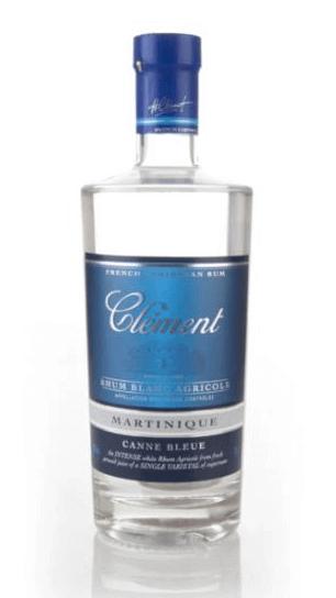 Clement Rhum Blanc Agricole Canne Bleue 2007