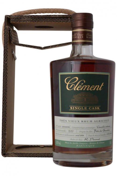 Clement Trés Rhum Vieux Agricole SINGLE CASK Vanille Intense