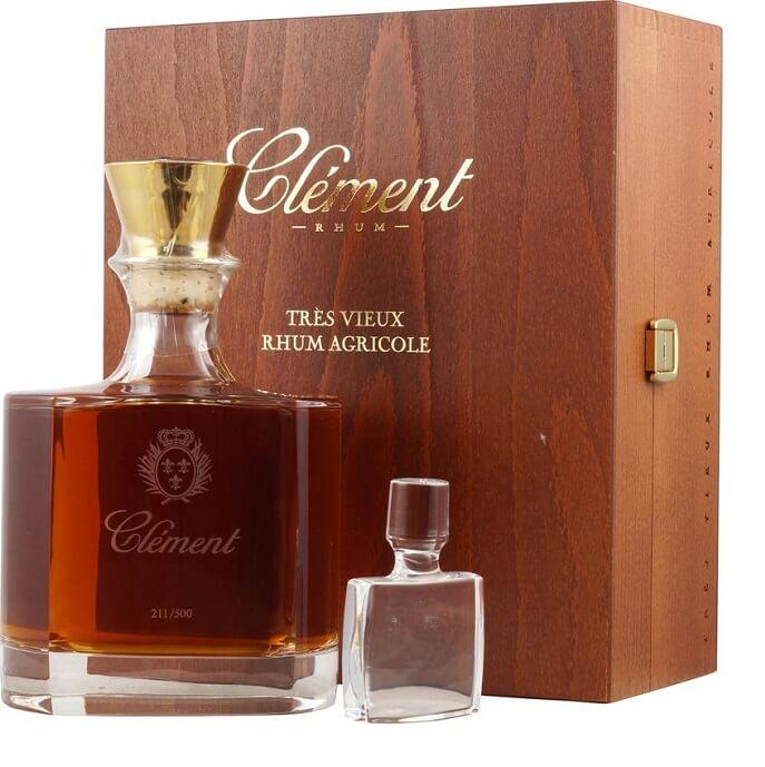 Clement Tres Vieux Cristal Decanter