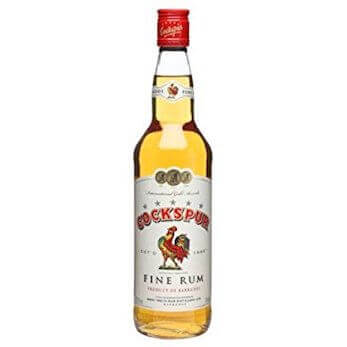 Cockspur Barbados 5 Star Fine Golden Rum