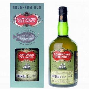 Compagnie des Indes Guatemala Single Cask Rum 9 ans