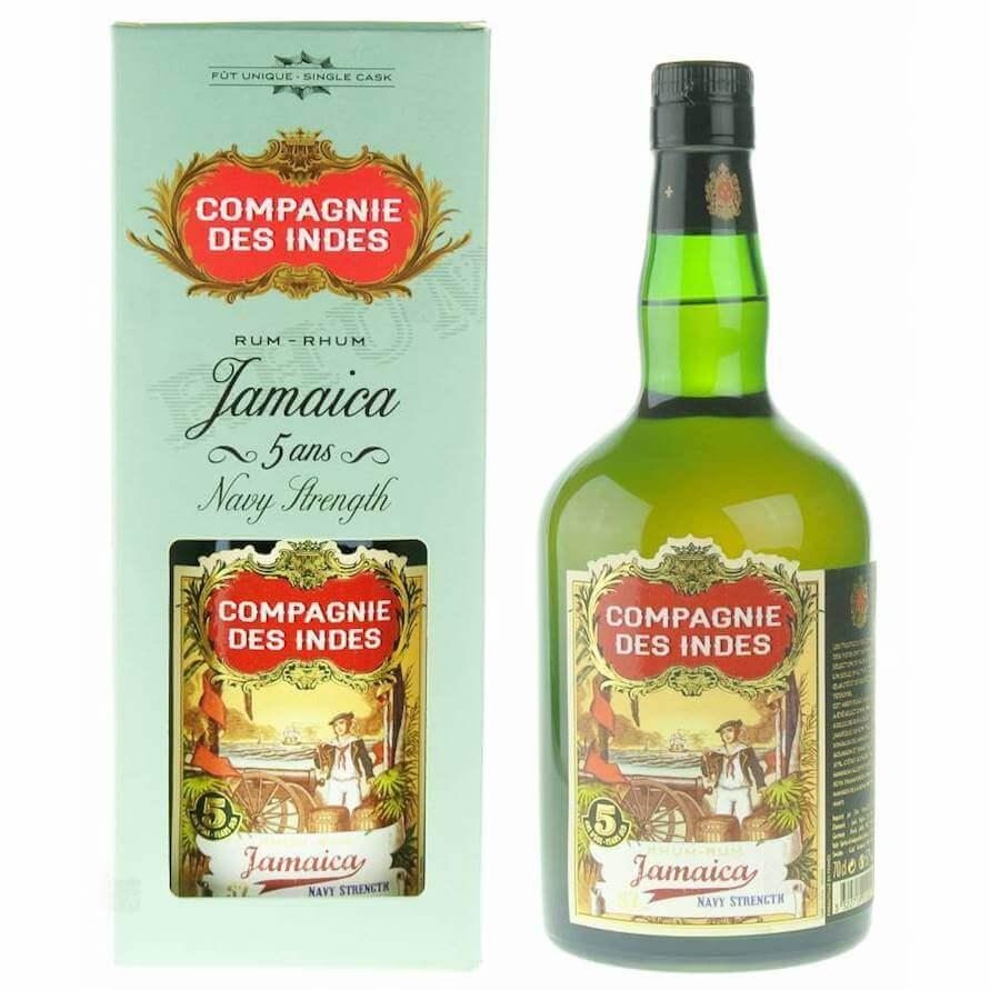 Compagnie des Indes Jamaica Rum Navy Strength