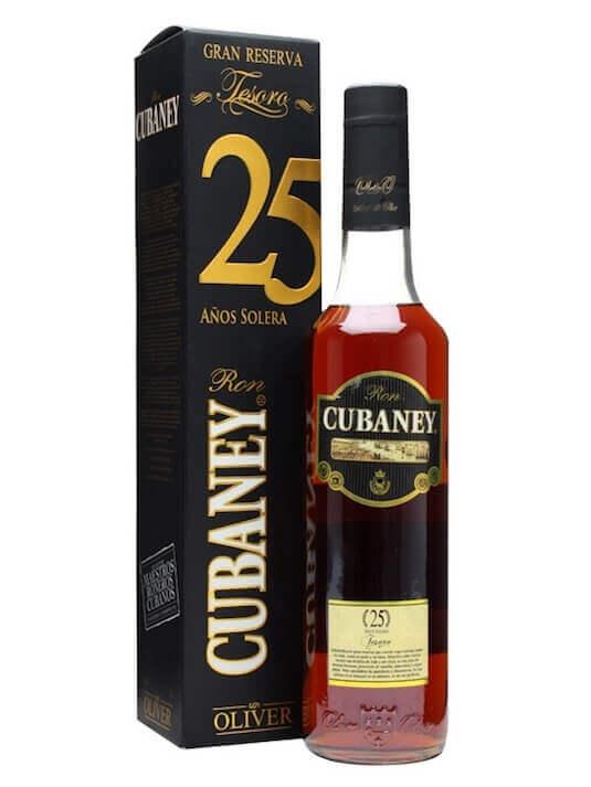Cubaney Tesoro Anos 25 Solera Ron