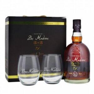 Dos Maderas PX 5+5 mit 2 Gläsern