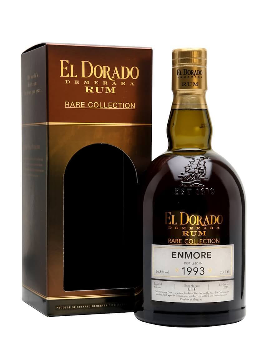 El Dorado ENMORE Demerara Rum Rare Collection Limited Release 1993