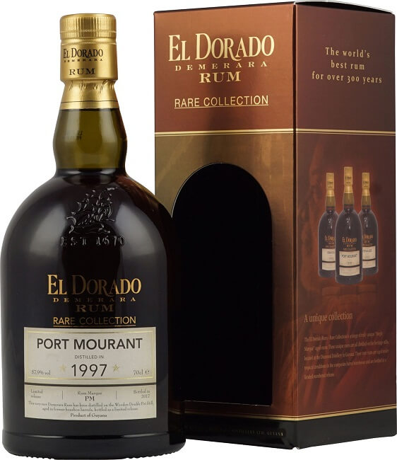 El Dorado PORT MOURANT Demerara Rum Rare Collection Limited Release 1997
