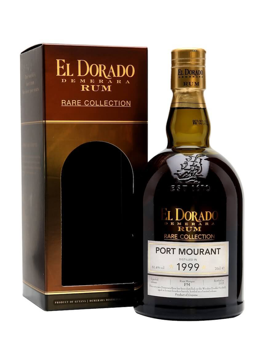 El Dorado PORT MOURANT Demerara Rum Rare Collection Limited Release 1999