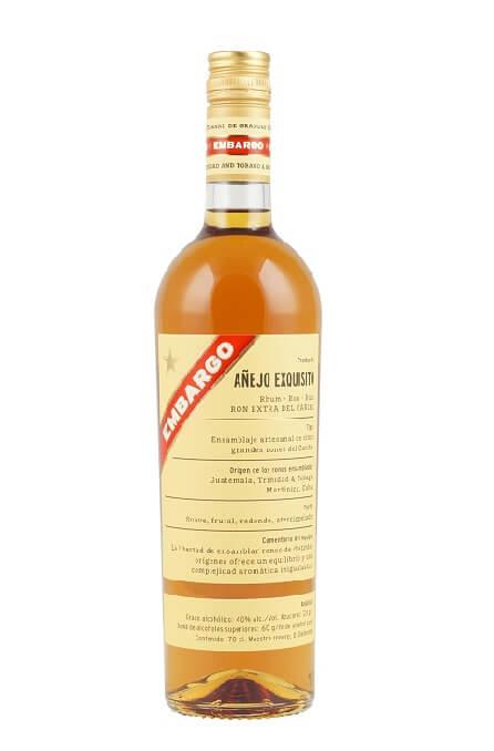 Embargo Anejo Exquisito Rum