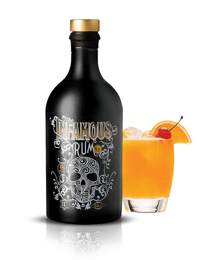Infamous Premium Spiced Rum