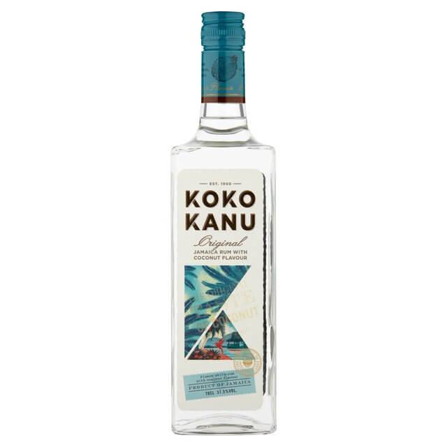 Koko Kanu Jamaica Rum Coconut Flavour