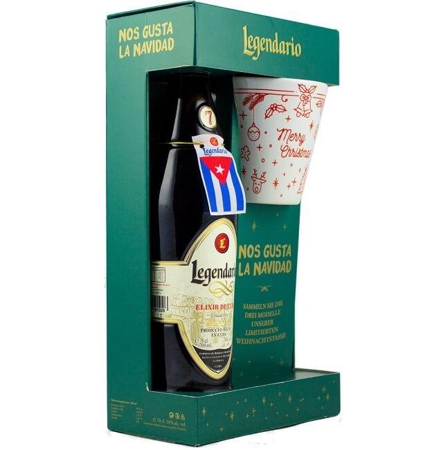 Legendario Elixir de Cuba mit Tasse