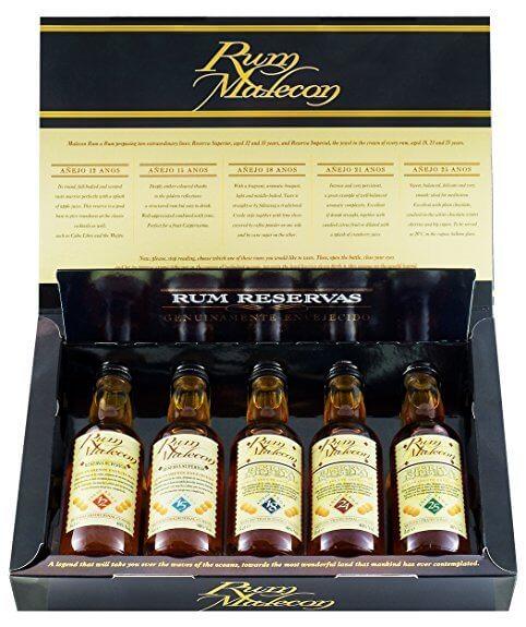 Malecon Rum Reserva Geschenk-Set