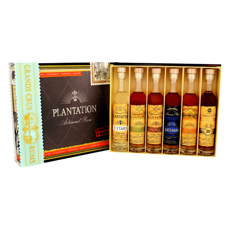 Plantation Cigar Box 6x10cl