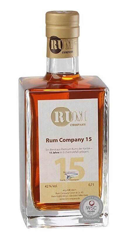 Rum Company Old Rum 15 Jahre