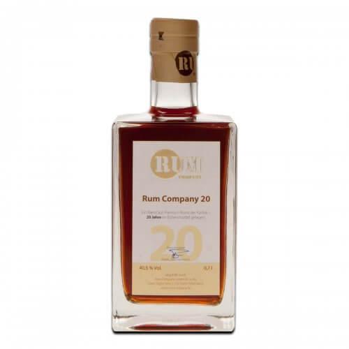 Rum Company Old Rum 20 Jahre
