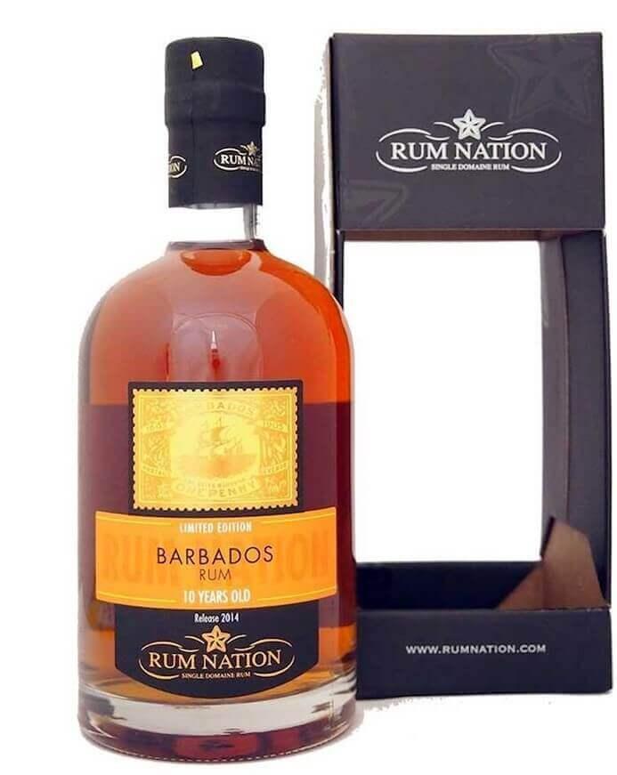 Rum Nation Barbados 10 Jahre