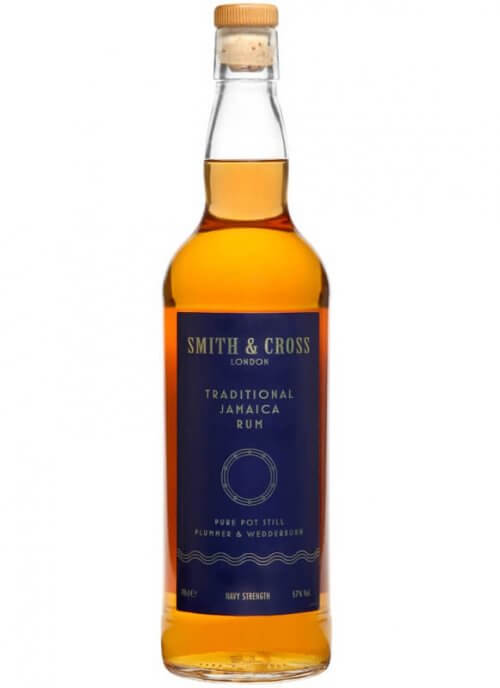 Smith & Cross Traditional Jamaica Navy Strength