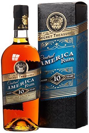 The Secret Treasures Central America Rum 10 Jahre
