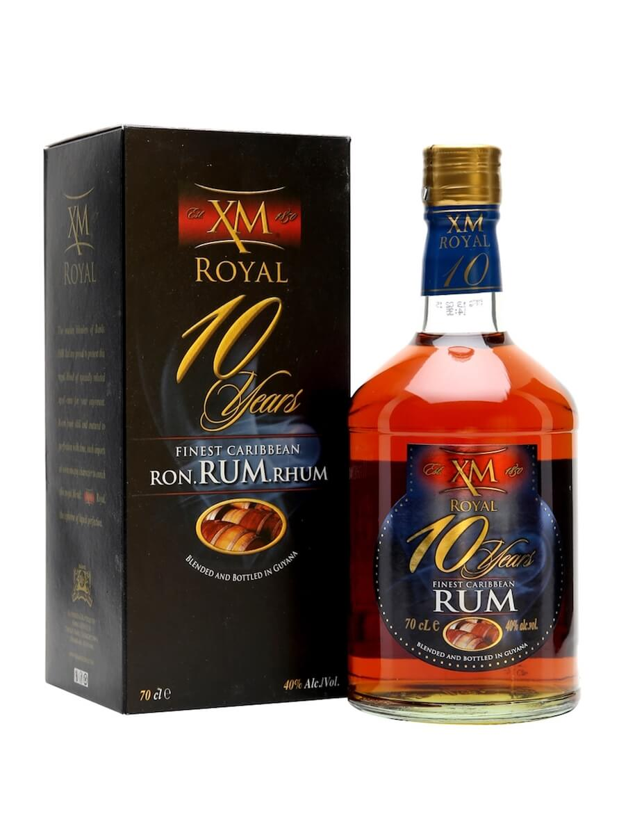 XM 10 yo Royal Demerara
